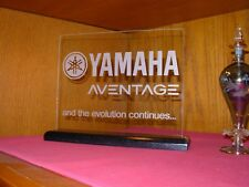 YAMAHA AVENTAGE ETCHED GLASS SIGN
