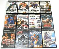Sony PlayStation 2 PS2 Game Bundle Lot of 12 Sports NBA Street ATV Offroad Fury