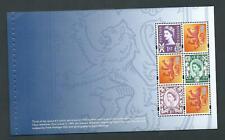 2008 Prestige Stamp Page Dp392 ex Booklet Dx43 Scotland Definitives 6x1st