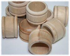 50pcs Wood Napkin Ring Holder Diy Unfinished Wood Napkin Ring Holder