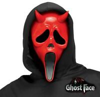 Devil Face Scream Ghost Face Halloween Day Night Killers Scary Movie Mask UK