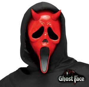 Licensed Devil Face Scream Ghost Face Halloween Day Night Killers Horror Mask