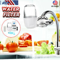 Faucet Tap Water Filter Filter Faucet Mount Water Purifier For Kitchen Home Sink