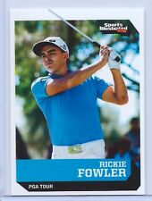 """RICKIE FOWLER 2016 SPORTS ILLUSTRATED """"1 OF 9"""" 1ST EVER PRINTED ROOKIE CARD"""
