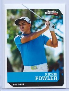 """RICKIE FOWLER 2016 SPORTS ILLUSTRATED """"1 OF 9"""" 1ST EVER PRINTED ROOKIE CARD!"""