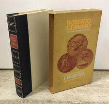 LIBRO I BORGIA ROBERTO GERVASO RIZZOLI 1977