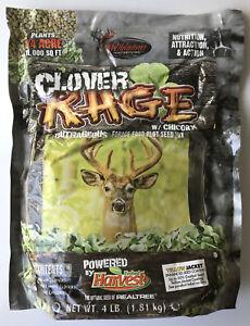 Evolved Harvest Clover Rage Clover Food Plot w/ Chicory 4# Bag Deer Turkey Hunt
