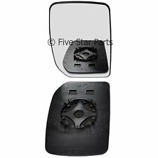 Right Driver side Convex Wing mirror glass for Ford Transit 2000-2012