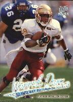 1997 Ultra Platinum Medallion Buccaneers Football Card #183 Warrick Dunn