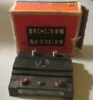 LIONEL 167 WHISTLE CONTROLLER PARTIAL BOX EXCELLENT CONDITION