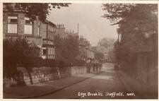 Edge Brook Road  Nether Edge ? Sheffield RP old pc used R Sneath