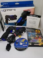 SONY PLAYSTATION 2 PS2 BOXED LIGHT GUN 4GAMERS & TIME CRISIS 2 FAST FREE POST