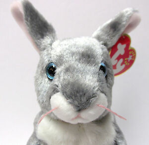 """Ty Beanie Baby - """"Hopper"""" the Bunny,VERY RARE Brand New PRISTINE with MIINT TAGS"""