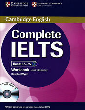 Cambridge English COMPLETE IELTS Bands 6.5-7.5 WORKBOOK w Answers +Audio CD @New