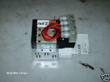 CKD Solenoid & Manifold M4KB210-06-L2K-4 24 VDC (NIB)