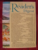 Readers Digest September 1958 John Dos Passos Tassili Helen Hayes James Michener