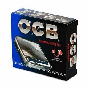 Macchinetta Per Sigarette OCB 70 mm -Tabacchiera Rollatore automatico in metallo