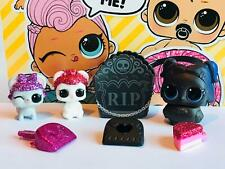 LOL SURPRISE PET SERIE 4 EYE SPY DUSK RAVEN SUGAR SNEAK SUGAR SQUEAK GOLD VHTF