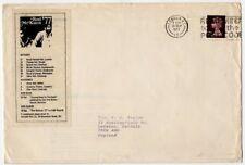 Rod McKuen Fan Club Envelope UK Tour 1977