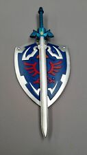 ONE SET Zelda Memery Foam Blade Skyward True Master Sword With Shield