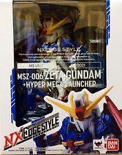 Z GUNDAM & HYPER MEGA NX EDGE STYLE  MSZ-006 FIGURE FIGURA NEW NUEVO BANDAI