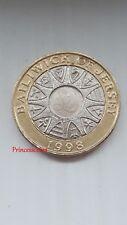 1998 BAILIWICK OF JERSEY PARISH CREST £2 TWO POUND COIN-KM#102