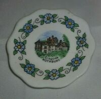 Vintage Miniature Plaque/Plate Birchcroft Cragside Rothbury In Great Condition