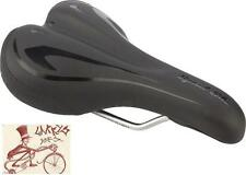 WTB SPEED SHE COMP WOMENS BLACK BICYCLE SADDLE SEAT WITH STEEL RAILS