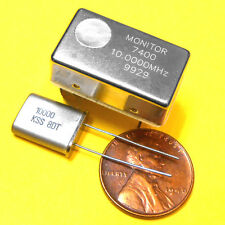 10.0000 MHz TCXO 1ppm Frequency Standard & 10 MHz Crystal Set