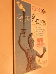 AUTOMOBILE CLUB D'ITALIA -XVII OLIMPIADE ROMA 1960- ITINERARI -E.N.I.T.(2)