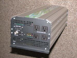 NEW ADVANCED PURE SINE WAVE POWER INVERTER 5000/10000 WATT DC to AC 12V to 120V