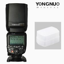 Yongnuo YN600EX-RT II TTL Wireless Speedlite Master Flash & Diffuser For Canon