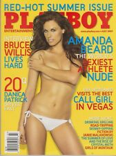 Playboy JULY 2007-A – TIFFANY SELBY – OLYMPIC SWIMMER AMANDA BEARD NUDE!!!