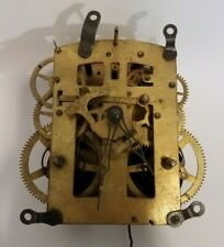 New listing Ansonia Clock Company Brass Clock Mechanism Movement Gears Steampunk As-Is