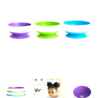 Munchkin ~ Stay Put Suction Bowl ~ 3 Pack ~ Purple, Green & Blue