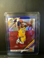 2019 OPTIC Purple Holo #60 LeBRON JAMES FREE SHIPPING!