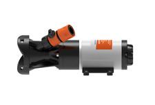 12V RV Discharge Mount Macerator Waste Pump 12GPM Boat RV Hose Flush