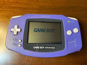 Nintendo GameBoy Advance Console Authentic GBA Handheld Indigo Fully Operational