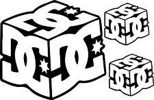 Sticker DCShoes Cube - 57x37 cm