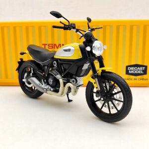 TSM 1/12 Ducati Scrambler Icon 803CC 2015 Rosso TSMMC003 Motorcycle Diecast