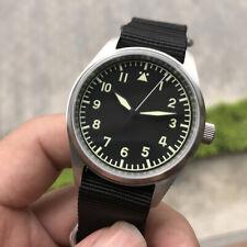 San Martin Men Pilot Automatic Watch Bronze Case 20atm SapphireGlass St2130 39mm