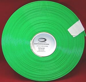 Meterware GOLD-BioThane® Neon-GRÜN 19 mm oder Neon-Orange 16 mm Ausverkauf