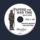 Papers for War Time WW1 Christianity Vintage Books Collection 36 PDF EBooks DVD