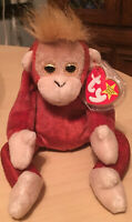 Ty Beanie Baby 1999 Schweetheart the Orangutang with Tags