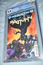Batman #1 Rebirth variant CGC 9.8 1st Print sold out new Slab Justice League