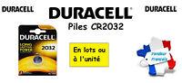 Piles boutons lithium Duracell CR2032 3V, ** Expéditon Rapide Et Gratuite **