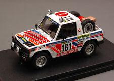 Mitsubishi Pajero #161 11th Paris Ddakar 1983 Cowan Malkin 1:43 8877 HPI RACING