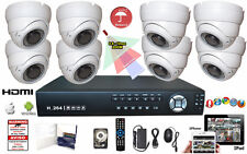 Dvr 8 Ch 960H Hdmi Security W 8 Varifocal Outdoor Indoor Dome Camera Set 2Tb Hdd