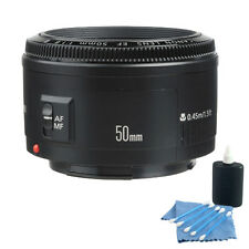 Canon EF 50MM F1.8 II Prime AF Lens For EOS T3 T5 T6i T6s T4i