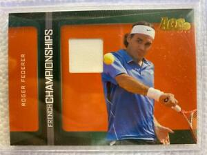 ROGER FEDERER 2007 ACE AUTHENTIC MATCH-WORN JERSEY, CARD #FC-3!!!